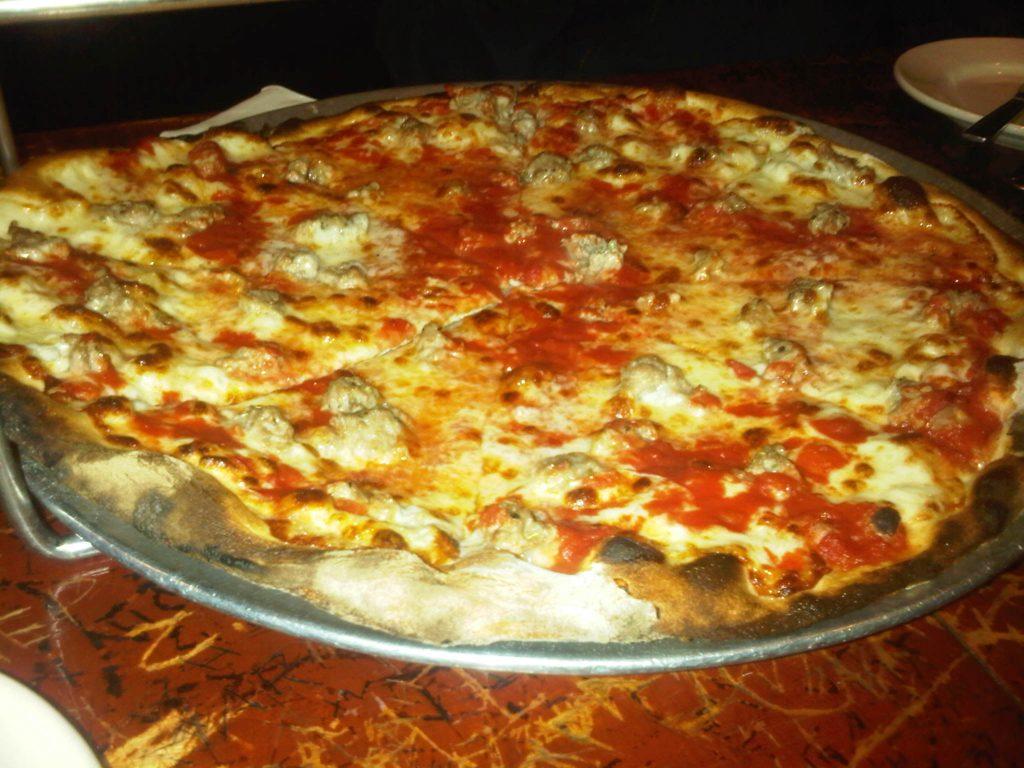 John's of Bleecker - Sausage Pizza