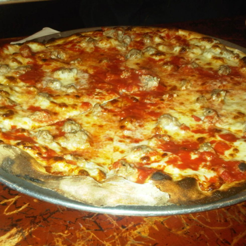 John's of Bleecker - Sausage Pizza